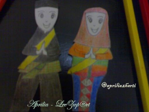 "This is it! ""Icon Kota Jakarta"" ala Ms. Aprilia Zuliharti. ;)"